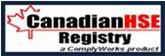 Canadian HSE Registry