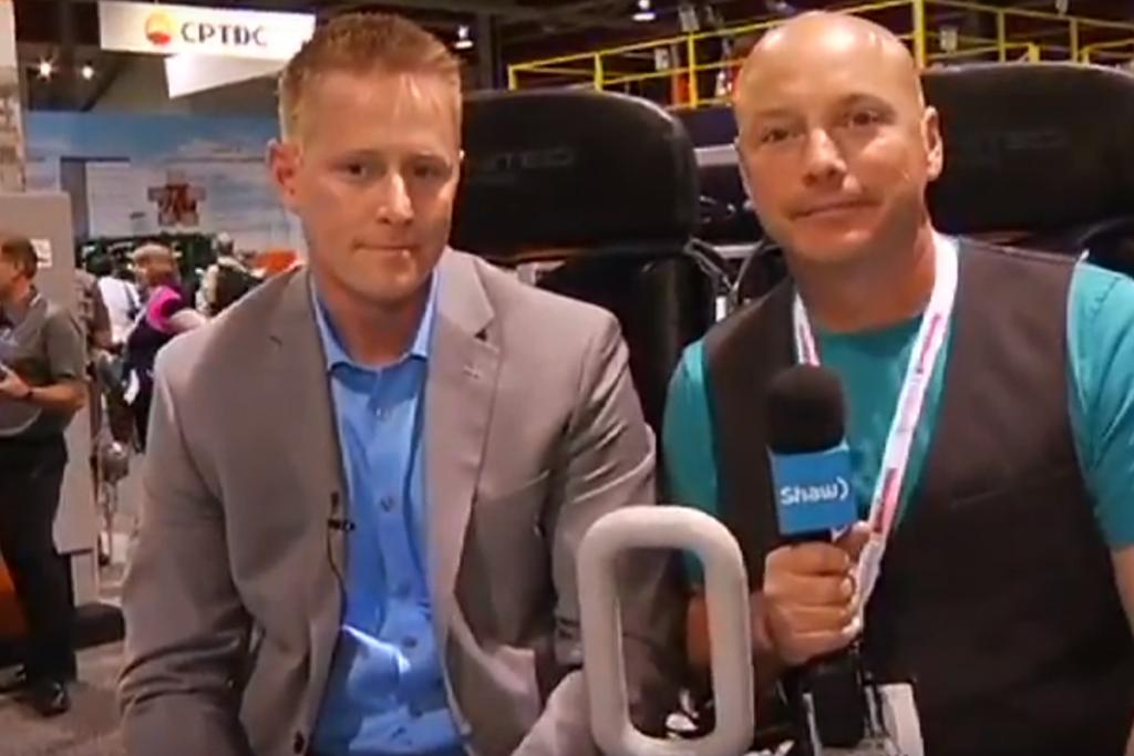 Shaw TV interviews Shayne McCallum at GPS 2015